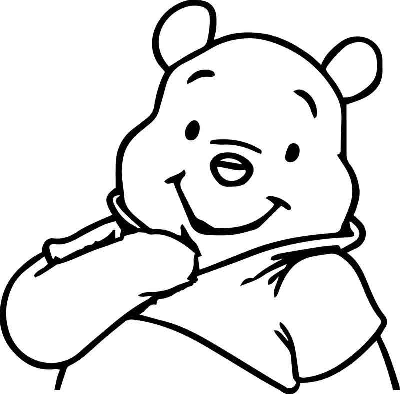 Cute Winnie The Pooh Coloring Page | Cute winnie the pooh ...