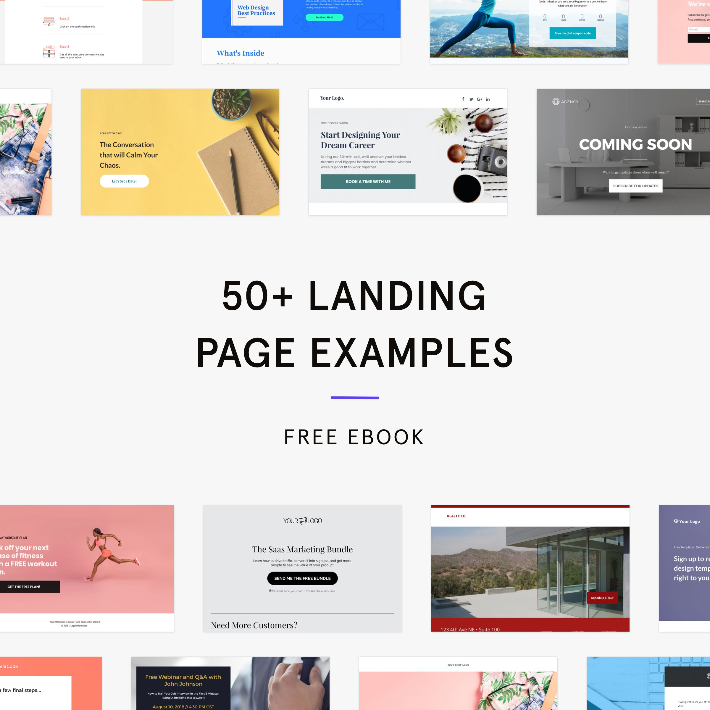 Landing Page Lookbook In 2020 Landing Page Examples Landing Page Website Design Inspiration