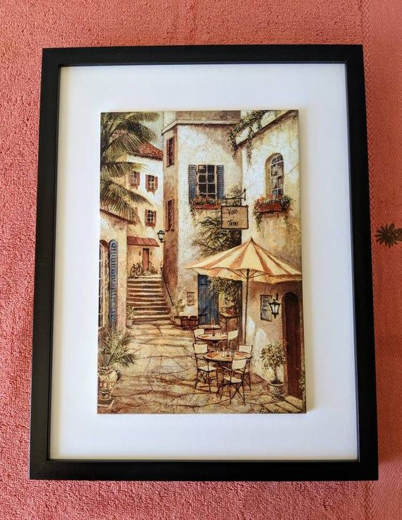 Decorative Framed Ceramic Wall Tile Italy (F26) Rome Cecily Gift for Grandpa,Gift for Dad,Gift Ideas #grandpagifts