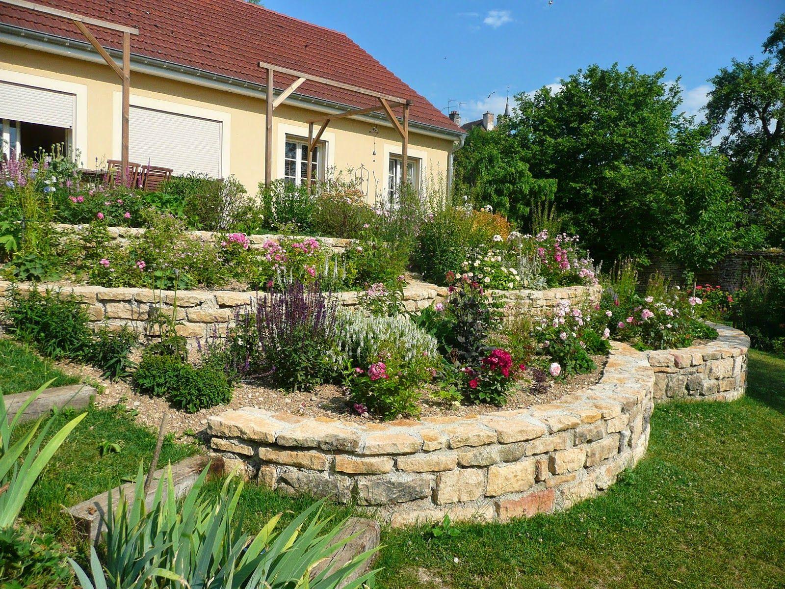 Fleur Tailler Jardin En Pente Pinterest Murs De Sout Nement