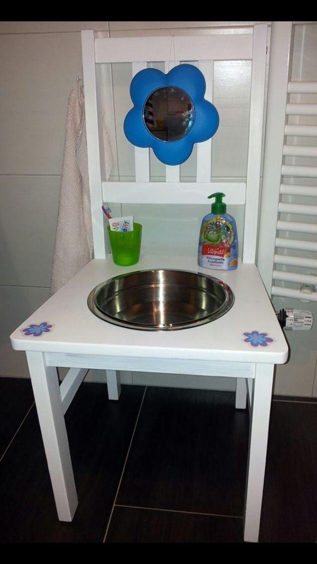 Waschtisch Für Kinder.Kinder Waschtisch Diy In 2019 Montessori Schlafzimmer