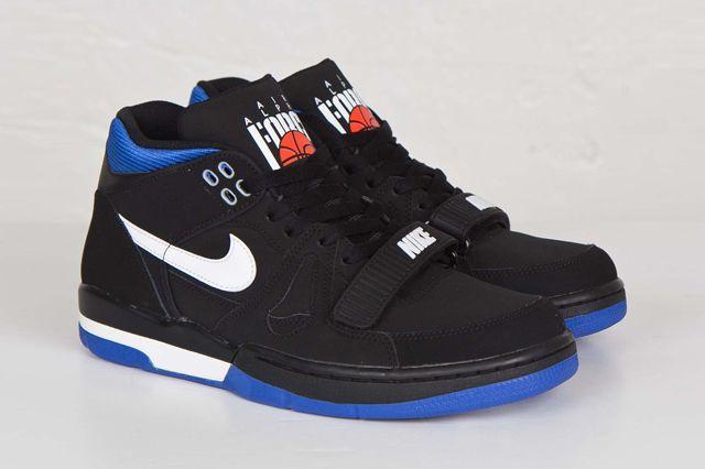finest selection 242b8 fef9f NIKE AIR ALPHA FORCE II (BLACKROYAL BLUE) - Sneaker Freaker
