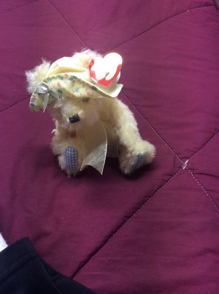 NWT Ty Beanie Babies Attic Treasures Collection Emma the White Bear Plush  Doll  Ty 6dfa8b061797