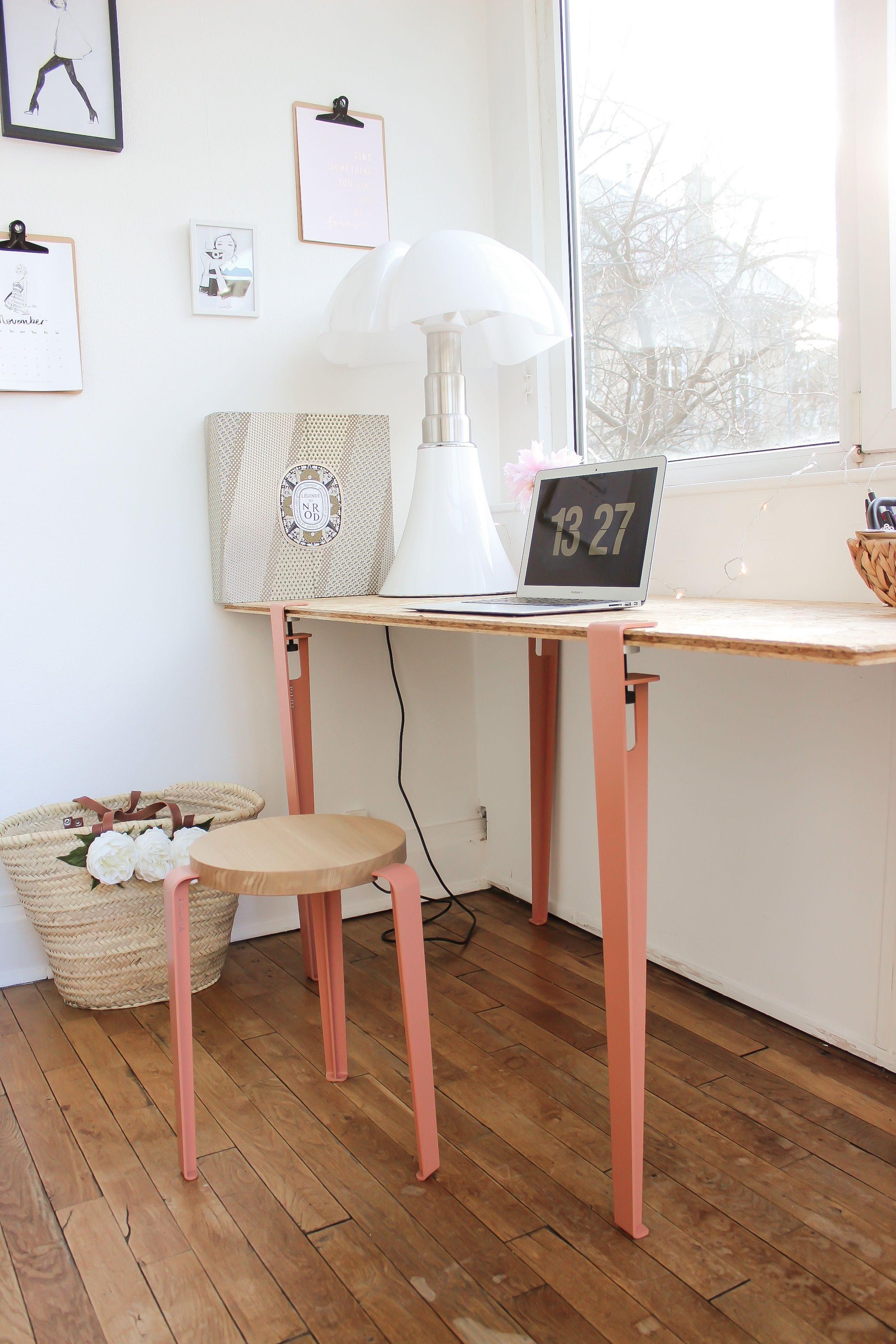 Pied De Table Design Pour Table Et Bureau 75cm Serre Joint Tiptoe Pieds De Table Pied De Table Design Table Salle A Manger