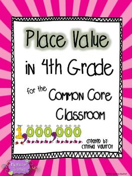 place value activities worksheets and games place value for 4th grade common core ideas. Black Bedroom Furniture Sets. Home Design Ideas