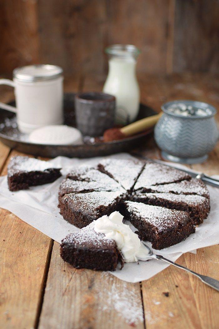 Schokoladenkuchen Mit Mandeln Saftig Und Glutenfrei Rezept