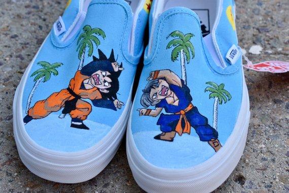 goku vans shoes cheap online