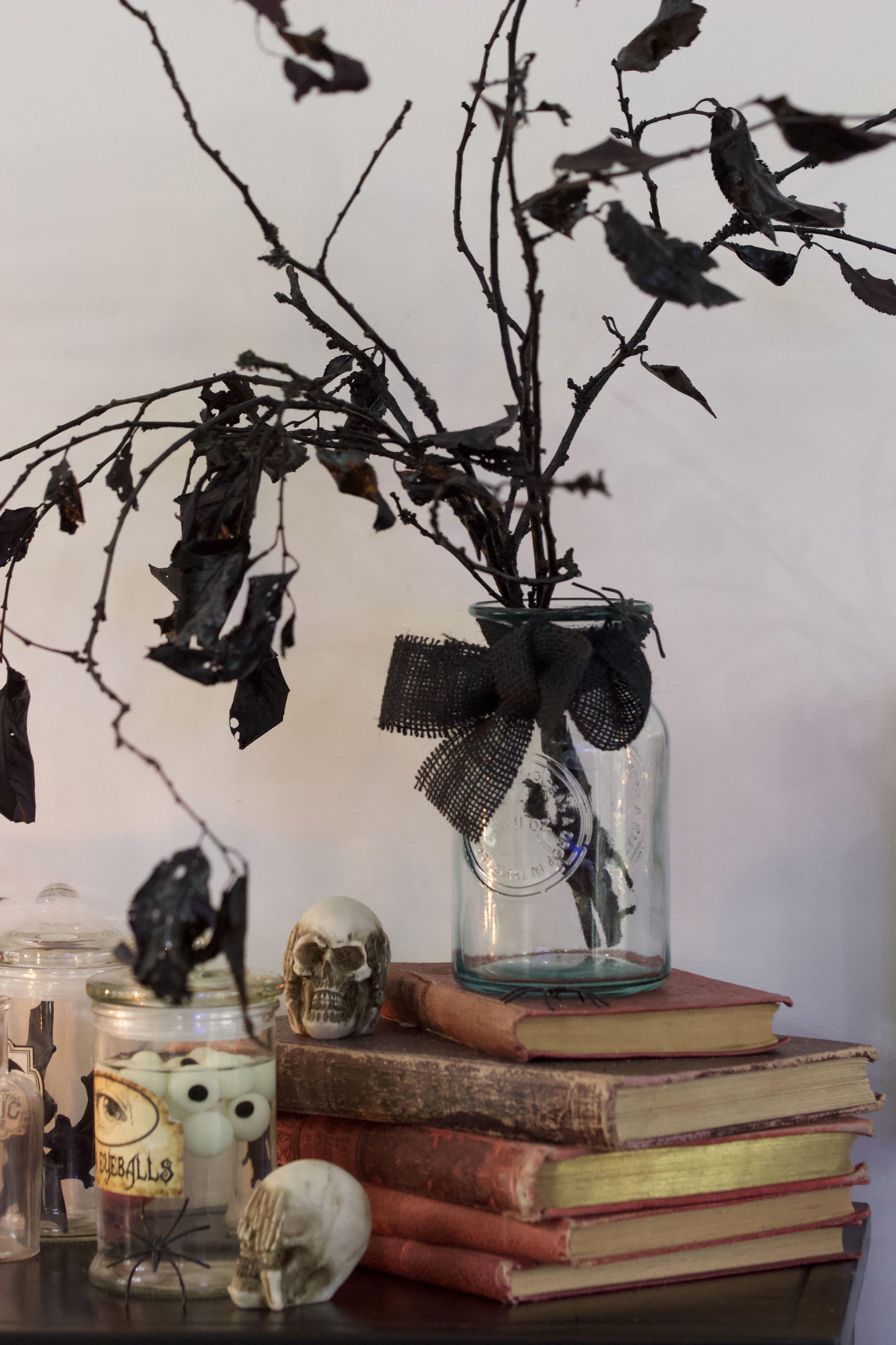 Un Halloween en noir et blanc : Trois idées déco inspirées ...