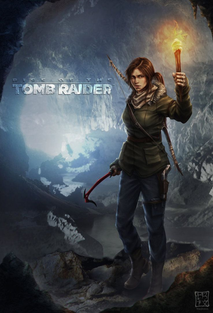Rise Of The Tomb Raider Fan Art Tomb Raider Rise Of The Tomb