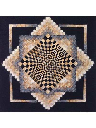 Poppin' In Quilt Pattern   3D quilt   Geometric quilt, Bargello