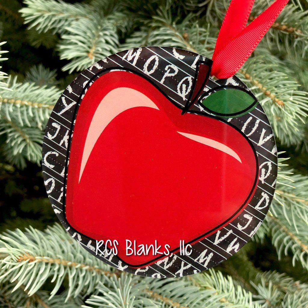Classroom Appreciation Acrylic Christmas Ornament Christmas Ornaments Ornaments Christmas