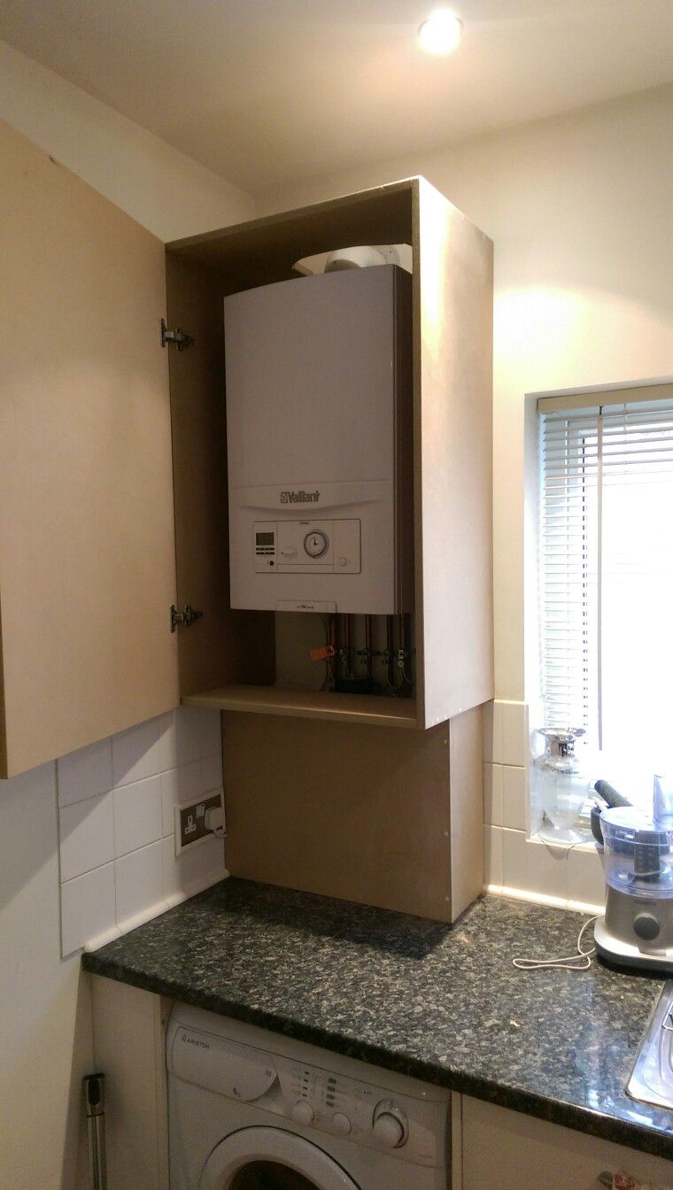 Boiler In Bathroom Cupboards