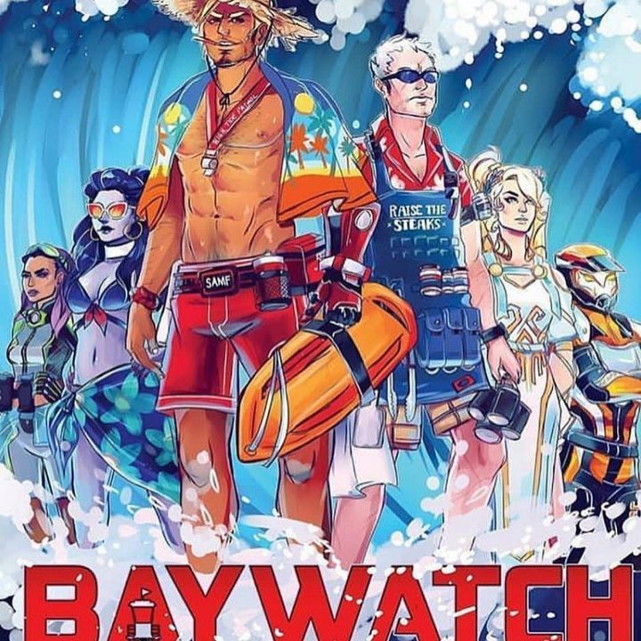 Overwatch Summer Beach Baywatch Overwatch, Hering