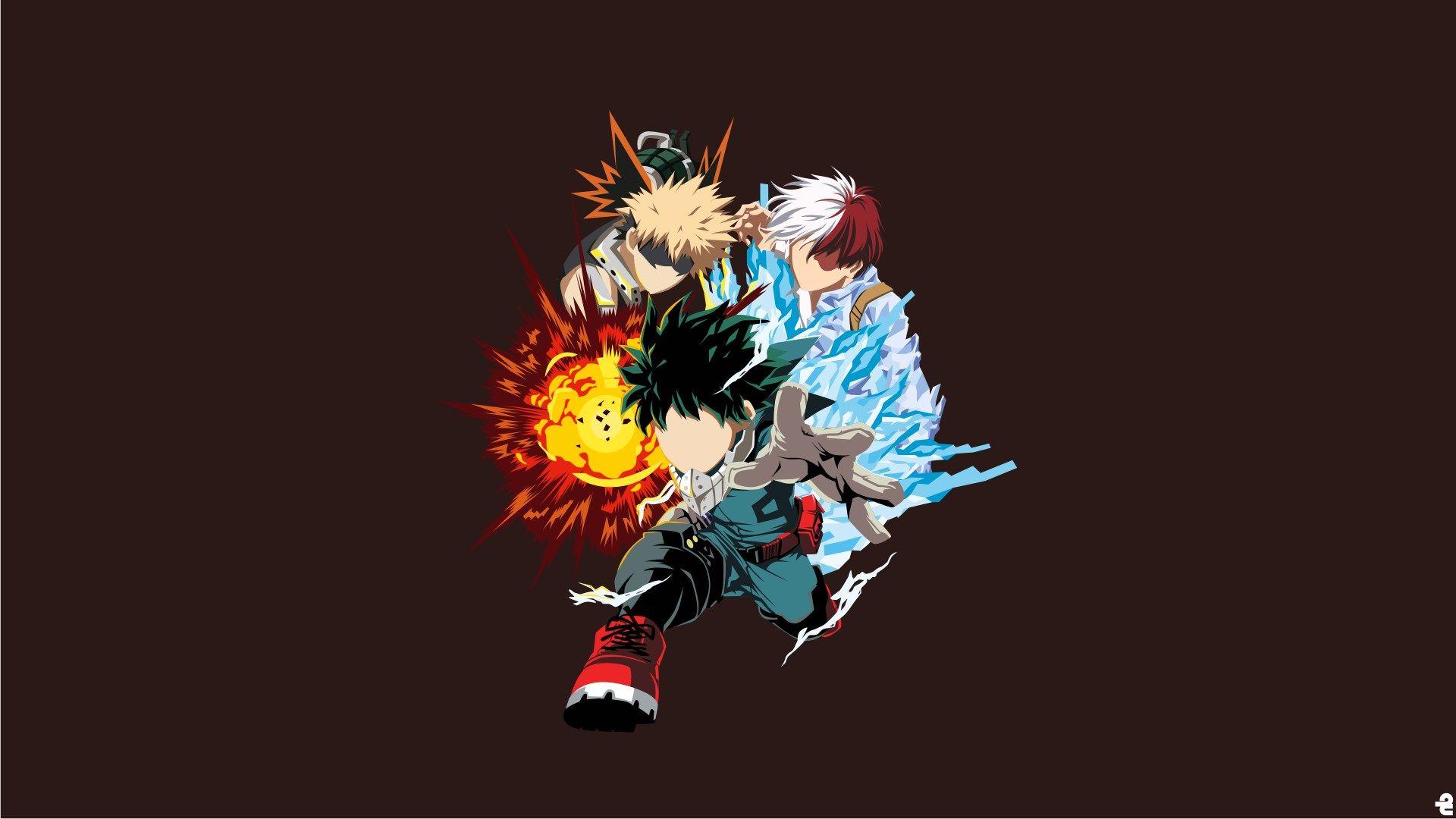 Widescreen Backgrounds Boku No Hero Academia Hero Wallpaper Anime Anime Wallpaper