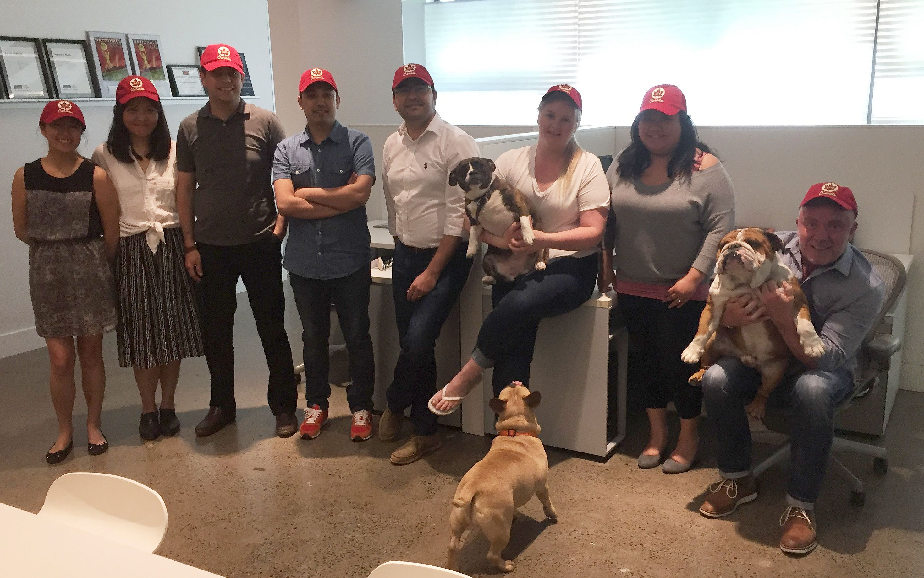Mike Niven Interior Design And Their Four Legged Companions In Canada 150 Hats
