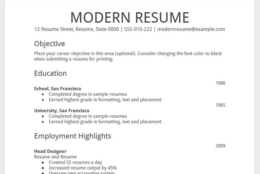 Cv Template Drive Cv Template Pinterest Sample resume, Resume - Job Resume Format Download