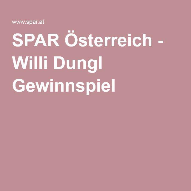 SPAR Österreich - Willi Dungl Gewinnspiel