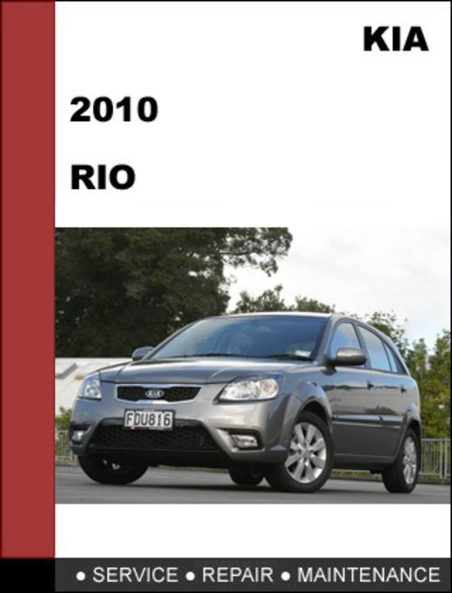 images 2010 kia rio factory service repair manual mechanical rh pinterest com kia rio service manual 2008 kia rio service manual