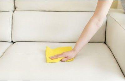 Comment nettoyer un canap en cuir blanc avec images Nettoyer un salon en cuir
