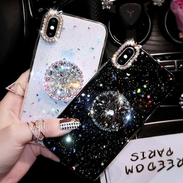 For IPhone 6/7/8 Case Luxury Bling