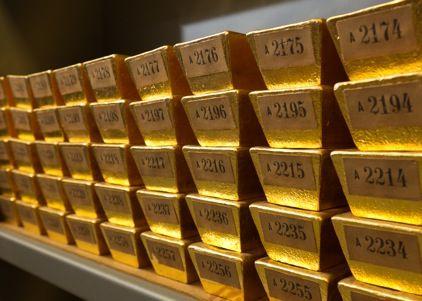 Goldbarren der Deutschen Bundesbank Riqueza, Ouro, Dinheiro