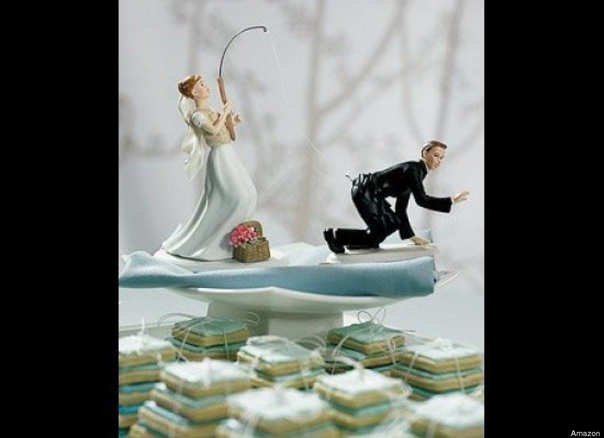 PHOTOS: Totally Inappropriate Wedding Cake Toppers | Funny weddings ...