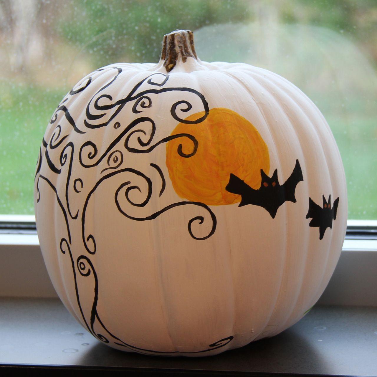 2013 Staff Pumpkin Decorating Contest  #pumpkin #halloween #contest #pediatricdentist #paintedpumpkinideas