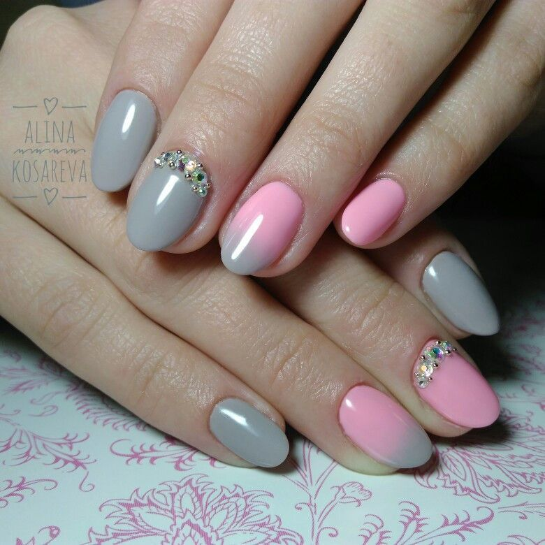 100 Simple Rhinestone Nail Art Designs For Summer Winter Fall Spring ...
