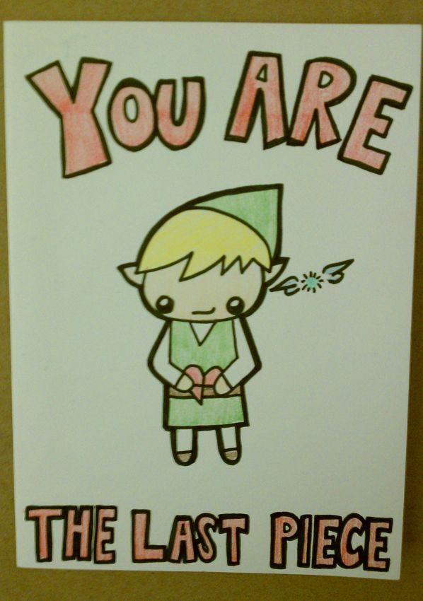Zelda Valentine S Day Card By Whitney Lynn Art Valentines