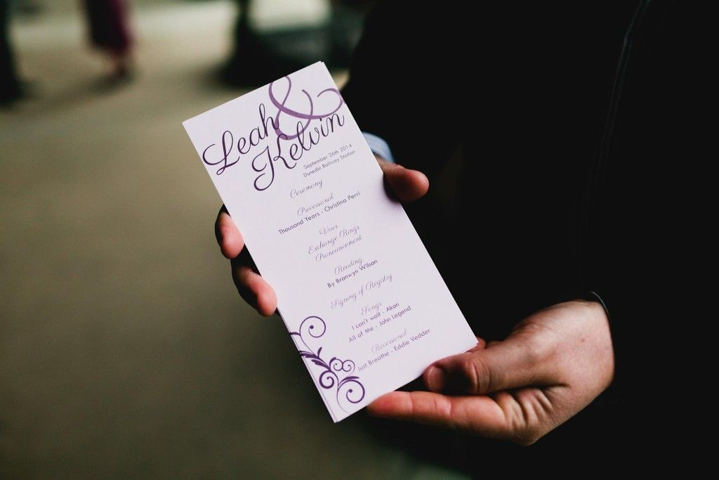 Wedding Order of Service Wording Template What to include - order of service template free