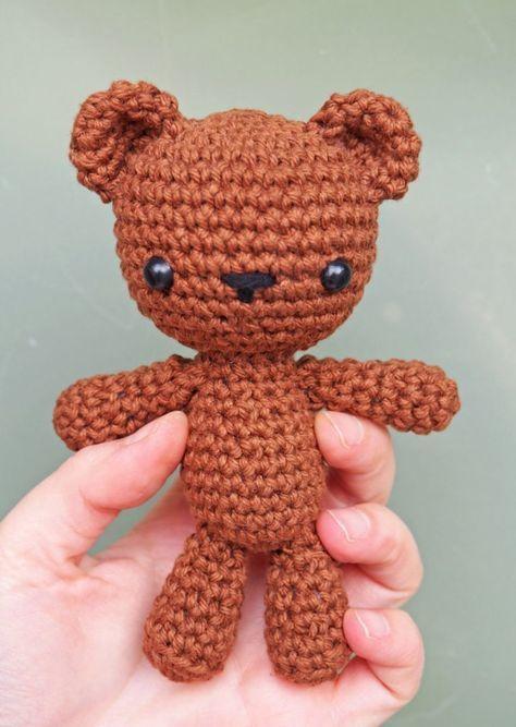 Free Crochet Teddy Bear Patterns Toys Pinterest Crochet Teddy