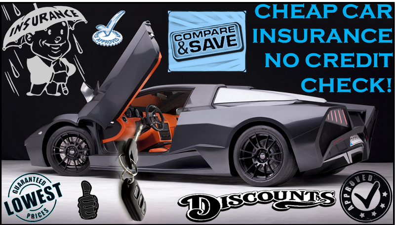 Cheapest no credit auto insurance with full coverage and