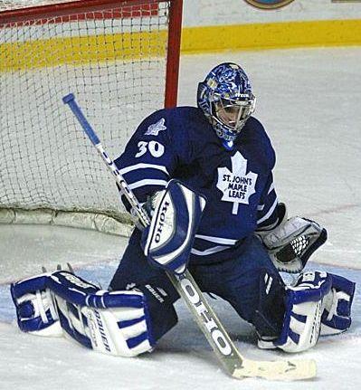 St John S Maple Leafs Goaltending History Sebastien Centomo Maple Leafs Golf Bags History
