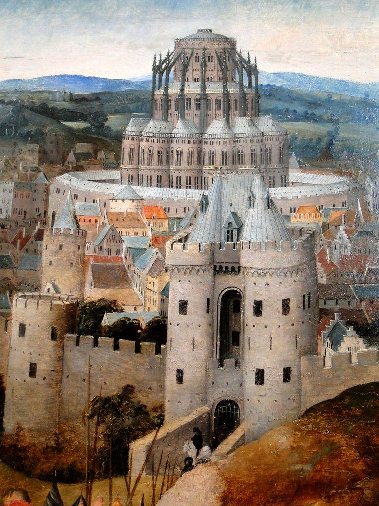 Jan Van Eyck Torre Di Babele Paesaggi Jan Van Eyck