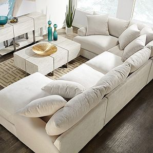 Admirable Stella Chaise Sectional 4 Pc Stella Micah Living Room Inzonedesignstudio Interior Chair Design Inzonedesignstudiocom