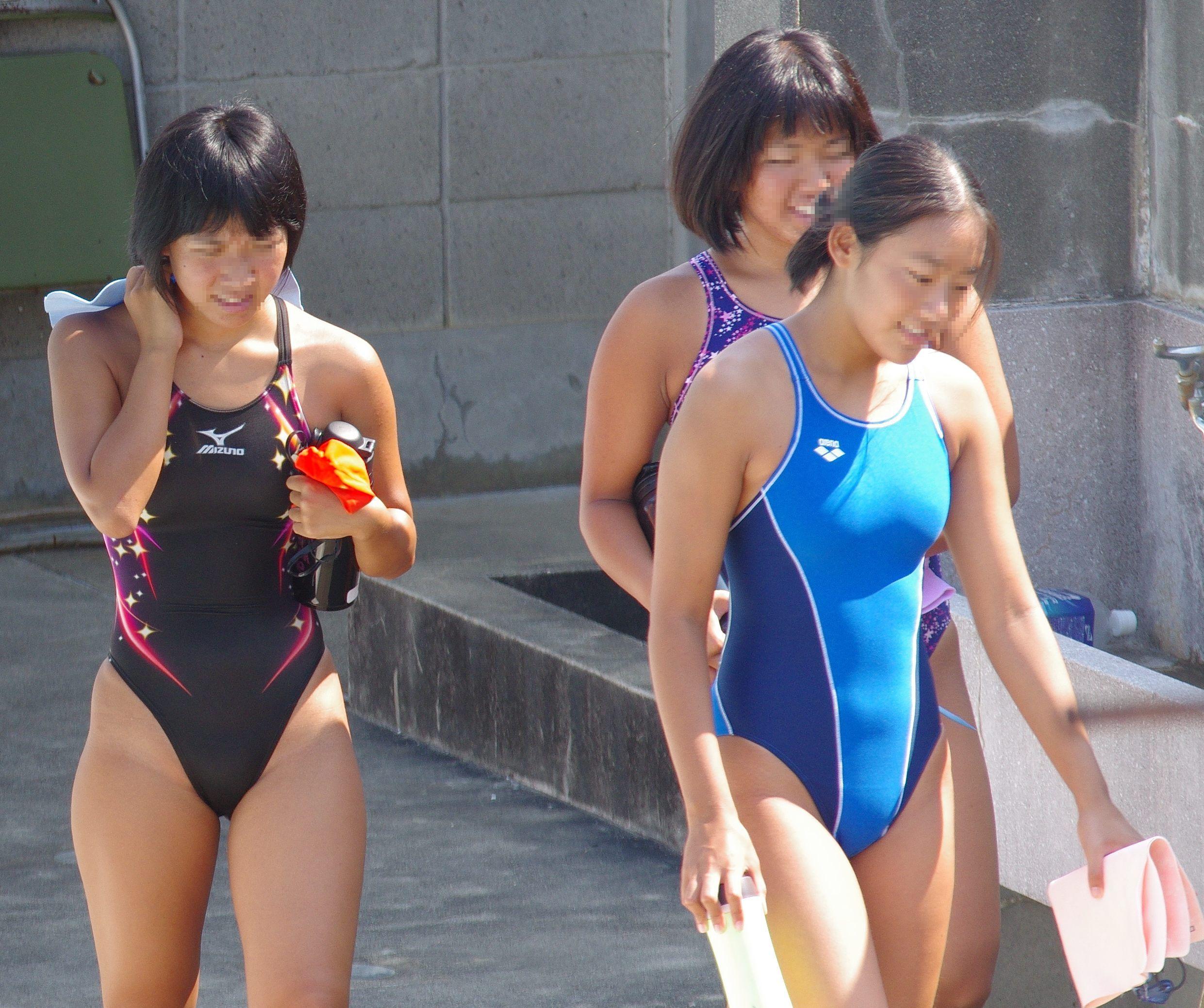 女子高生競泳水着 Pinterest