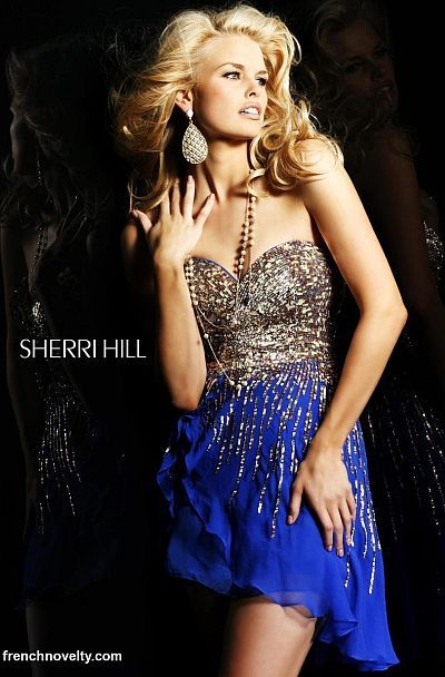 $278 Sherri Hill Dress 8443 at frenchnovelty.com