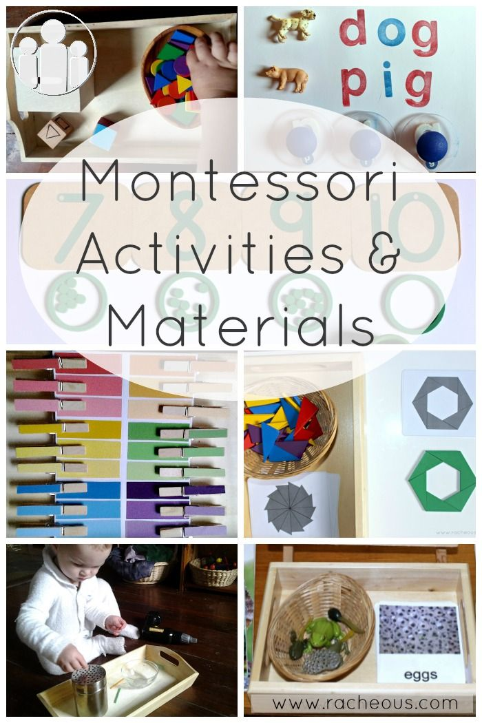 Montessori Activities & Materials - Racheous - Lovable Learning