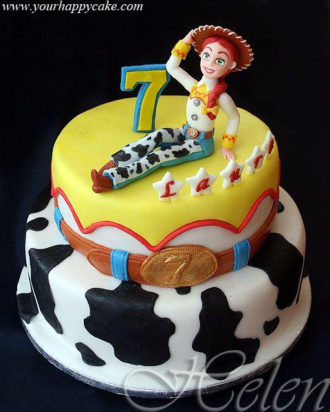 Jessie Toy Story Cake