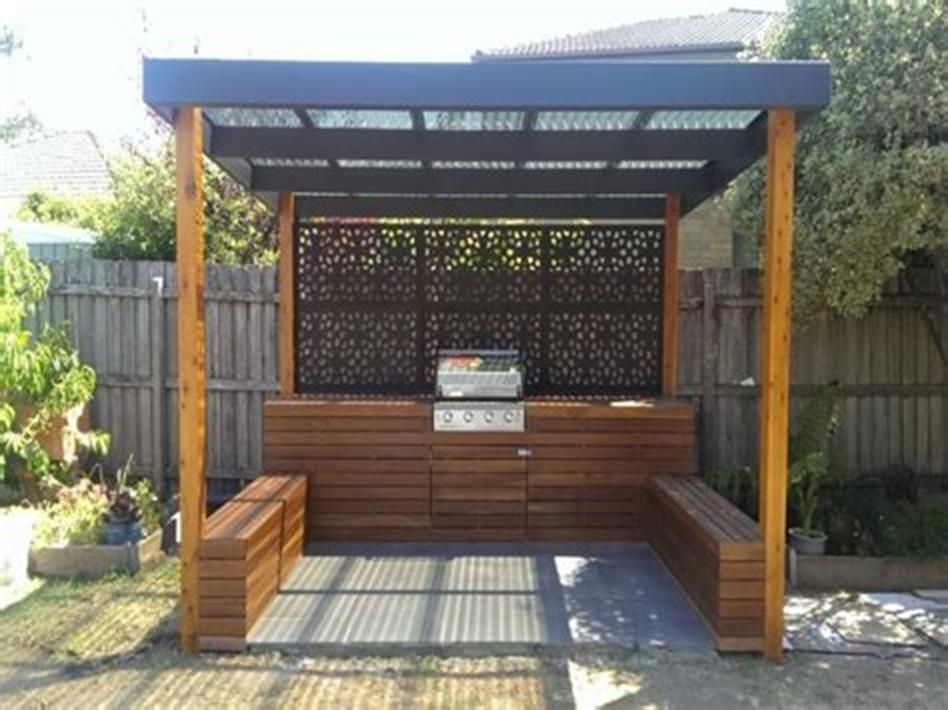 35 amazing small covered outdoor bbq ideas for 2019 46 in