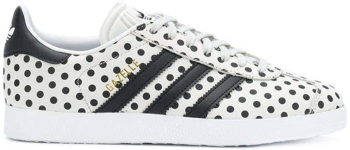 ca20835c3 Adidas Gazelle polka dot sneakers