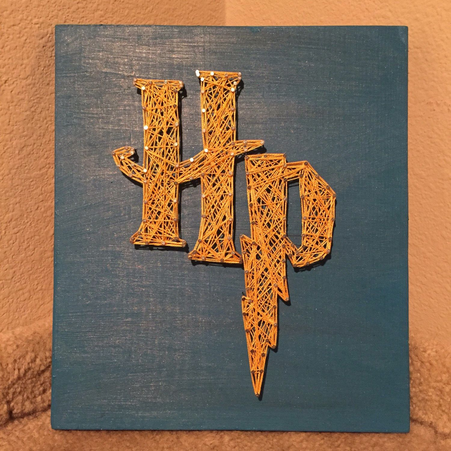 Made To Order  Harry Potter String Art Sign By