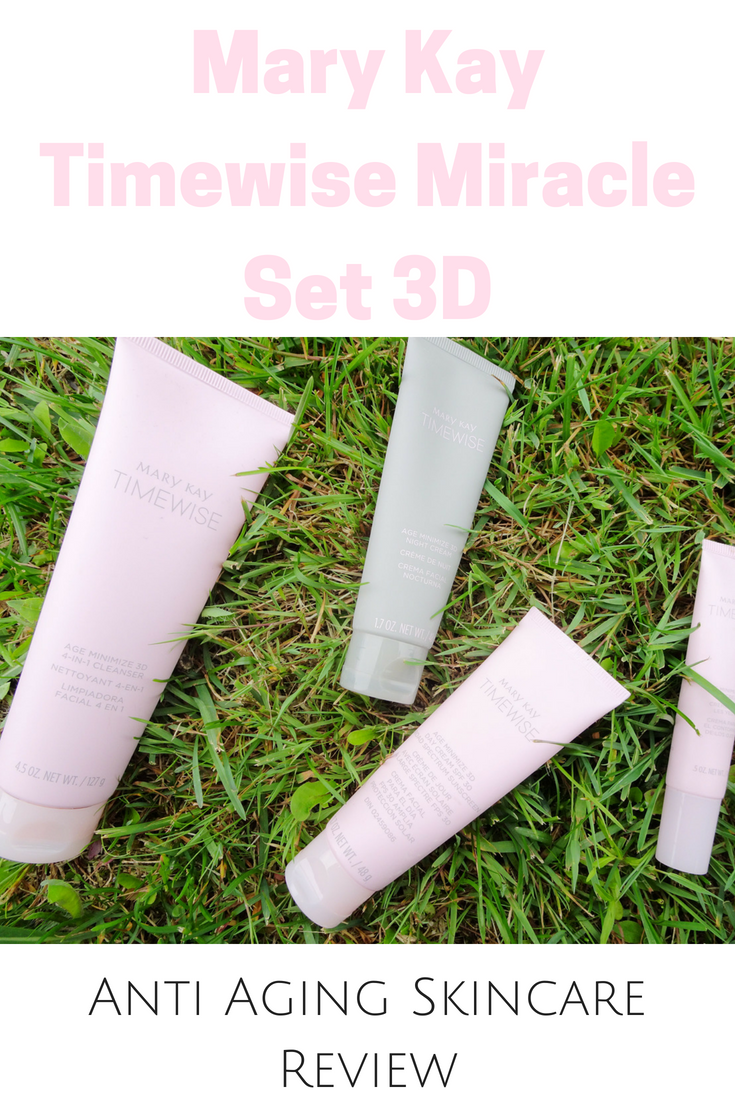 Mary Kay Timewise Miracle Set 3d Review Janine Allison Mary Kay Timewise Mary Kay Timewise Miracle Set