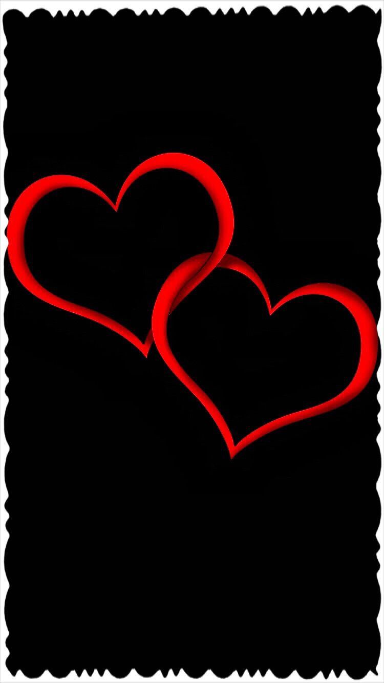 Wallpapers Iphone Android Black Love Animation Wallpaper Heart Wallpaper Iphone Wallpaper