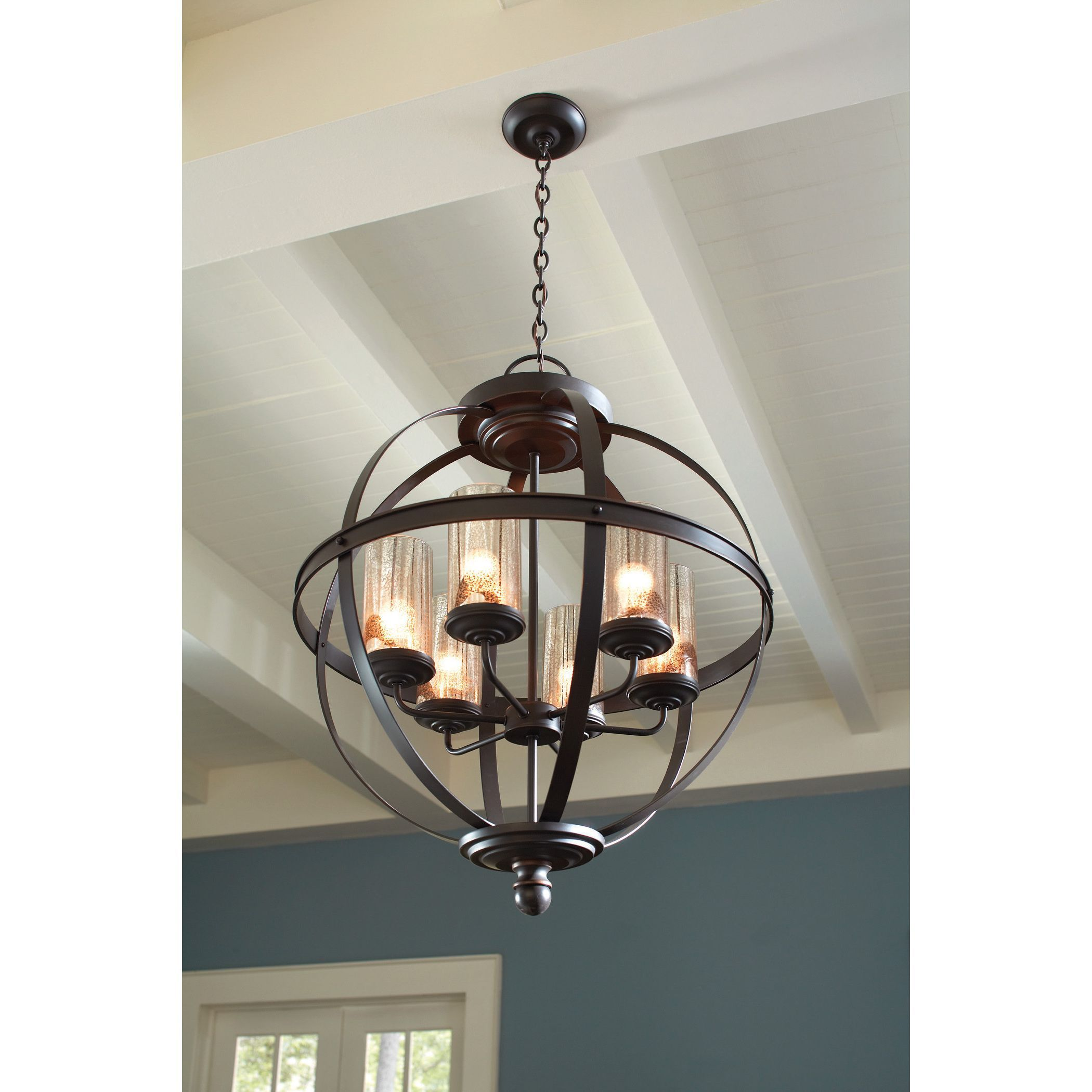 Sea gull lighting sfera 6 light autumn bronze chandelier autumn shop sea gull lighting sfera chandelier at lowe canada find our selection of chandeliers at the lowest price guaranteed with price match off arubaitofo Images