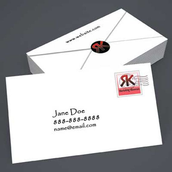 Printed creative business card envelope by rkdesignprint on etsy printed creative business card envelope by rkdesignprint on etsy reheart Gallery