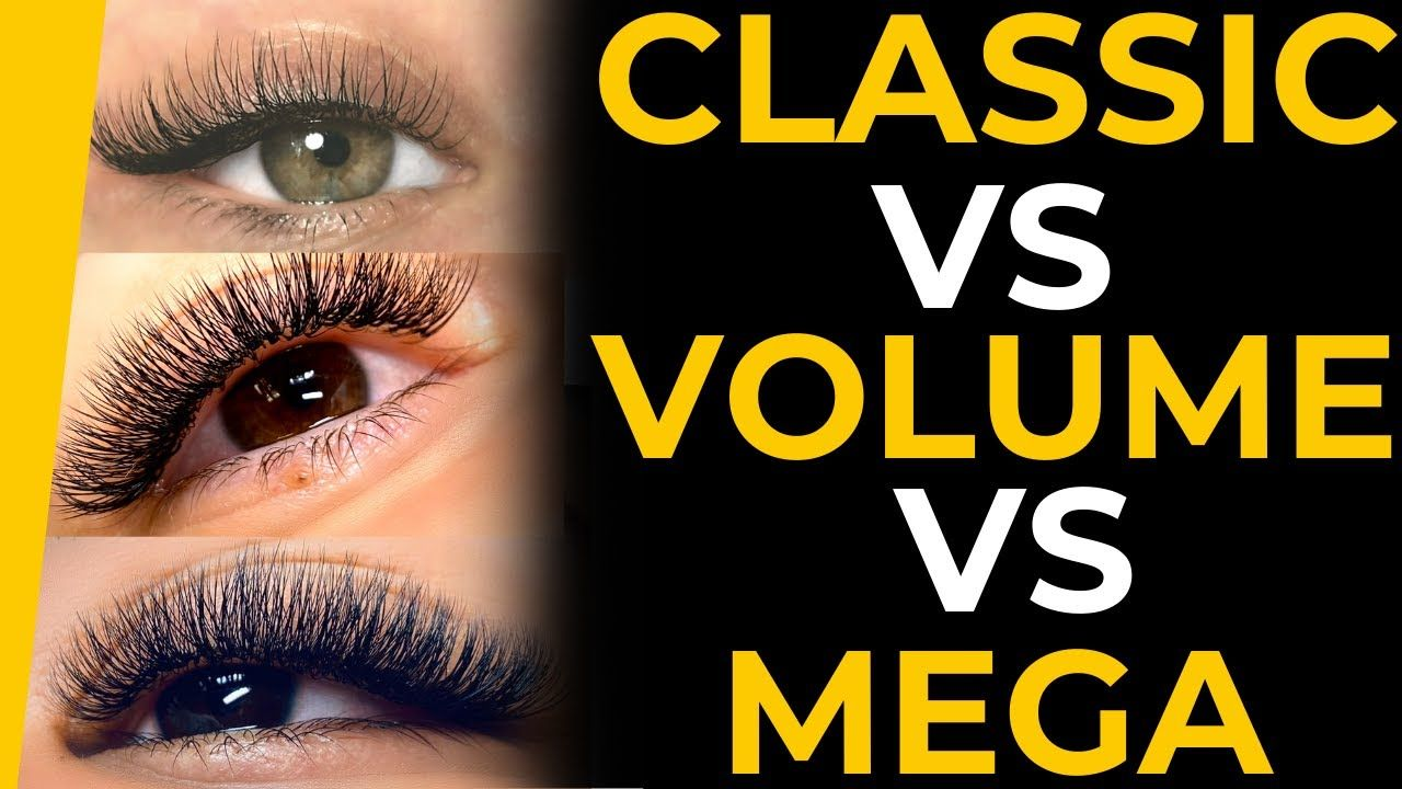 hybrid volume extensions lash lashes