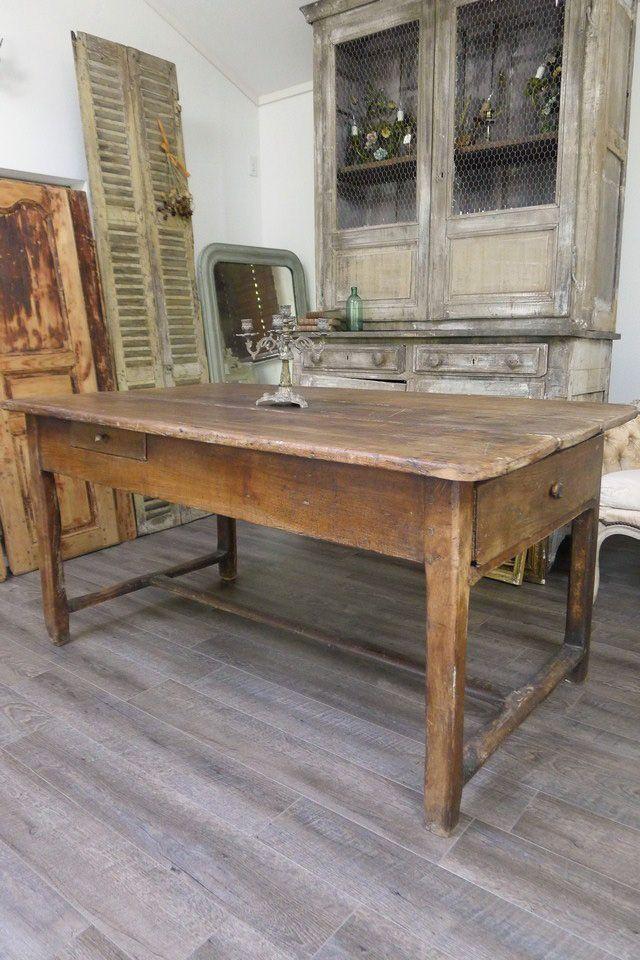 アンティーク 農家のダイニングテーブル Nesting Table, Furniture