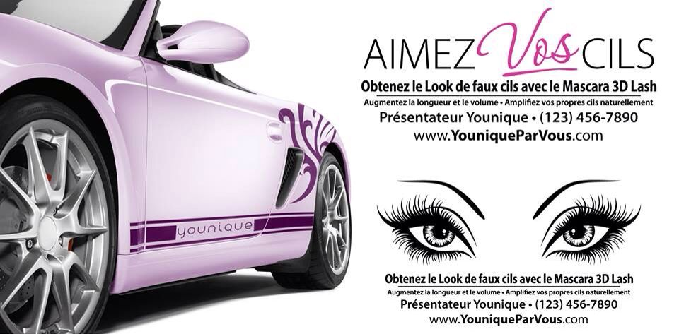 French canadian vinyl younique decals order at www facebook com vinylglyphicsca