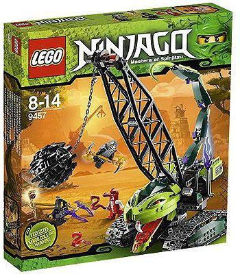 Lego Ninjago Fangpyre Wrecking Ball 9457 Lego Toys R Us